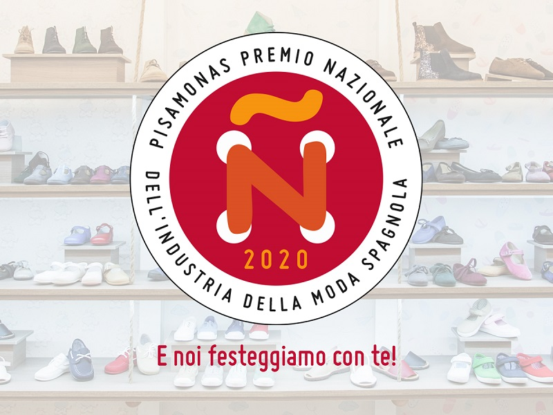 PISAMONAS PREMIO NAZIONALE DELL'INDUSTRIA DELLA MODA SPAGNOLA 2020!