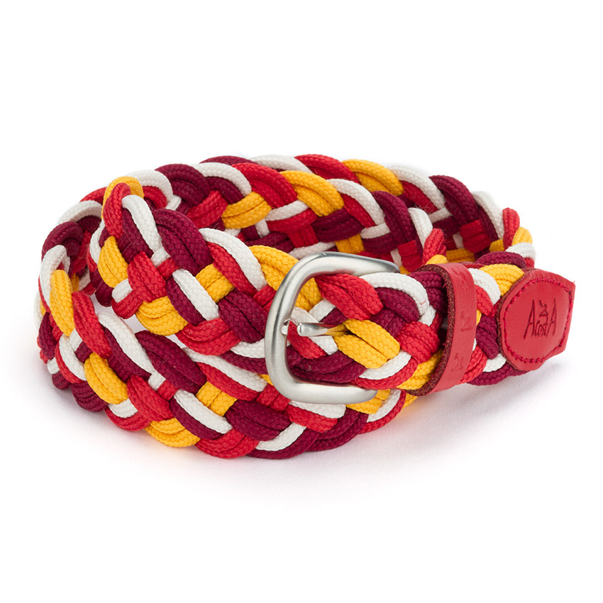 Cintura intrecciata Multicolor bambini