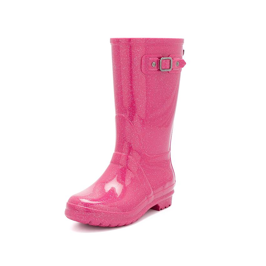 Stivali di gomma glitter