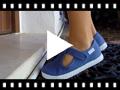 Video from Scarpe Occhio di Bue T-Bar Bambini Velcro