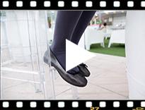 Video from Ballerine donna e bambina brillantini