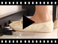 Video from Ballerine bambina e donna in pelle metallizzata