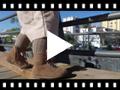 Video from Stivaletti tronchetti bambina scamosciati con cerniera