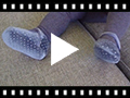 Video from Scarpe con cinturino Neonate Velluto Strass
