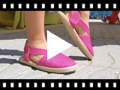 Video from Espadrillas con Elastico per Bambine