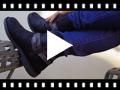 Video from Stivali bassi con dettaglio Effetto Serpente