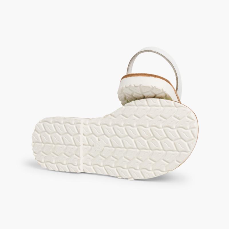 Minorchine nappa bicolore Edizione Speciale suola bianca