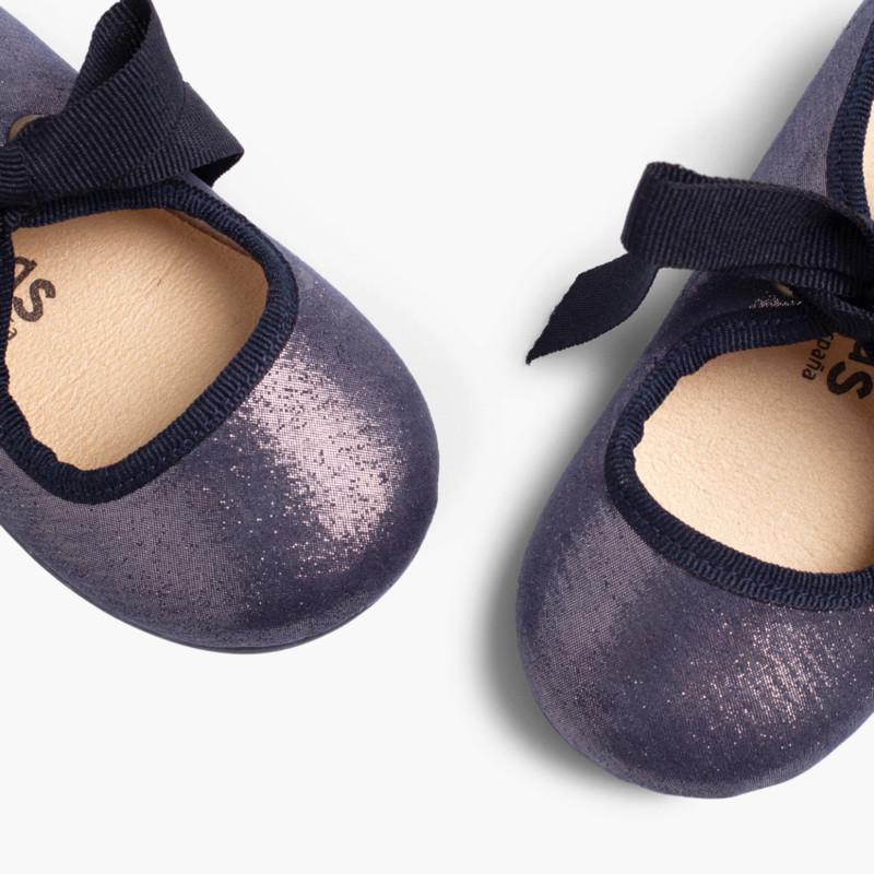 Scarpe bambina con brillantini