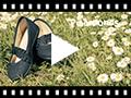 Video from Scarpe con Cinturino Elastico Largo