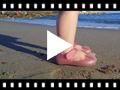 Video from Scarpe con Cinturino Gomma Velcro Mia Fiocco