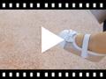 Video from Scarpine con cinturino Neonati Nappa e Camoscio Brillanti con Velcro