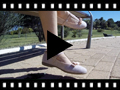 Video from Scarpe bambina con fibbia e fiocchetto
