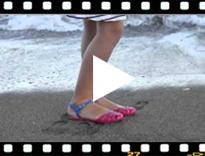 Video from Sandali granchietti per donna modello Mara