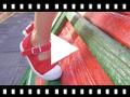 Video from Sneakers Tela Bambina con Fibbia e Punta di Gomma
