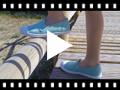 Video from Sneakers Tela senza Lacci con Elastici Laterali