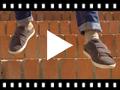 Video from Scarpe da ginnastica scamosciate e velcro bambini