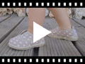 Video from Sneakers con Stelle Senza Lacci