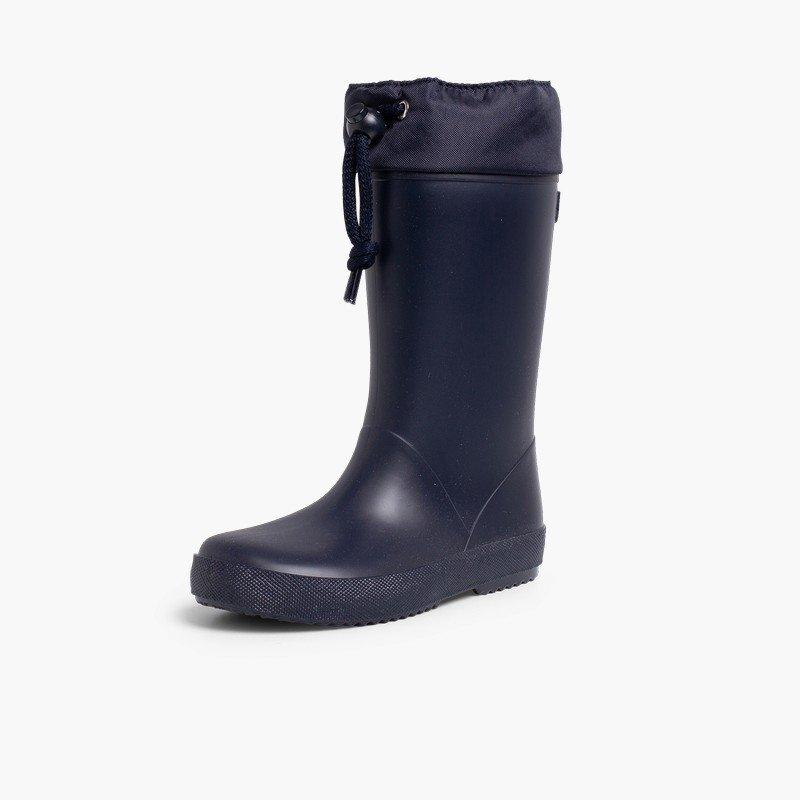 Stivali di gomma alti regolabili