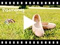 Video from Ballerine Scamosciate Elastico Impuntura Stelle