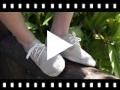 Video from Blucher di tela con base espadrillas