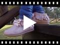 Video from Stivaletti Glitter Indianini con Frange