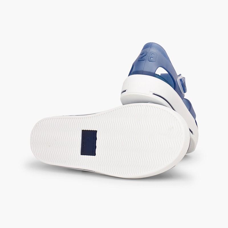 Sandali ragnetti con velcro tipo scarpe da tennis