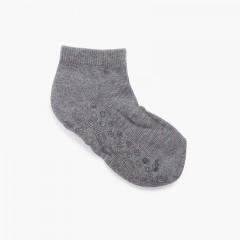 Calzini caviglia bambini antiscivolo Grigio