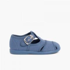Sandali di tela Blu jeans