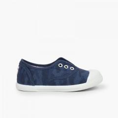 Sneakers mimetiche bambino Blu