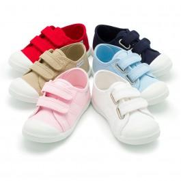Scarpe Bambini tela Velcro