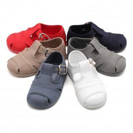 Sandali di tela