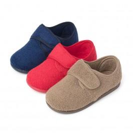 Pantofole Casa Velcro