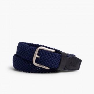 Cintura elastica intrecciata bambini Blu