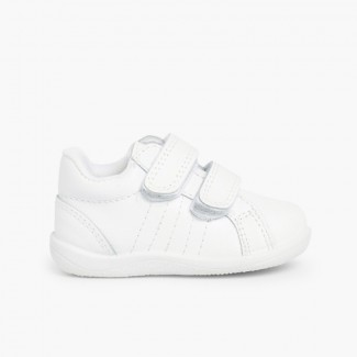 Sneakers Neonati e Bambini Bianco