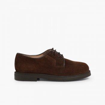 c5cda069dbb6b Scarpe Oxford Derby per Bambini Zapatos blucher de serraje Marr oacute ...