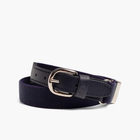 Cintura Elastica Liscia Bambini Blu