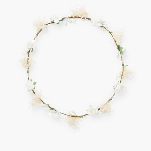 Fascia di fiori e gypsophila Bianco