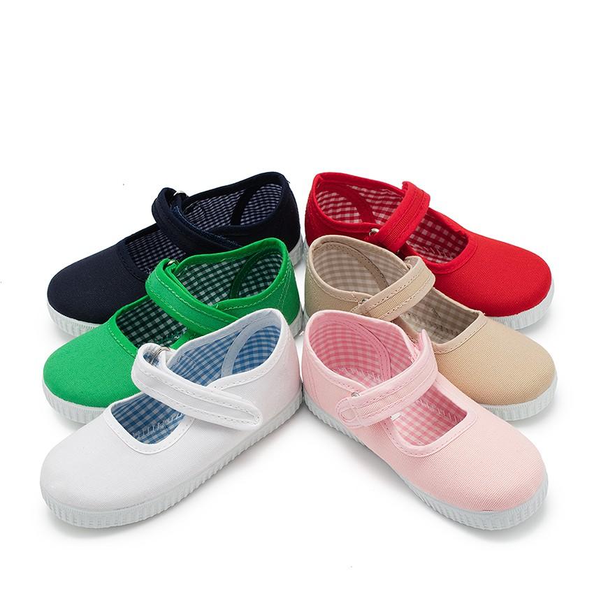 Scarpe Bambina chiusura a strappo Suola Tipo Sneakers