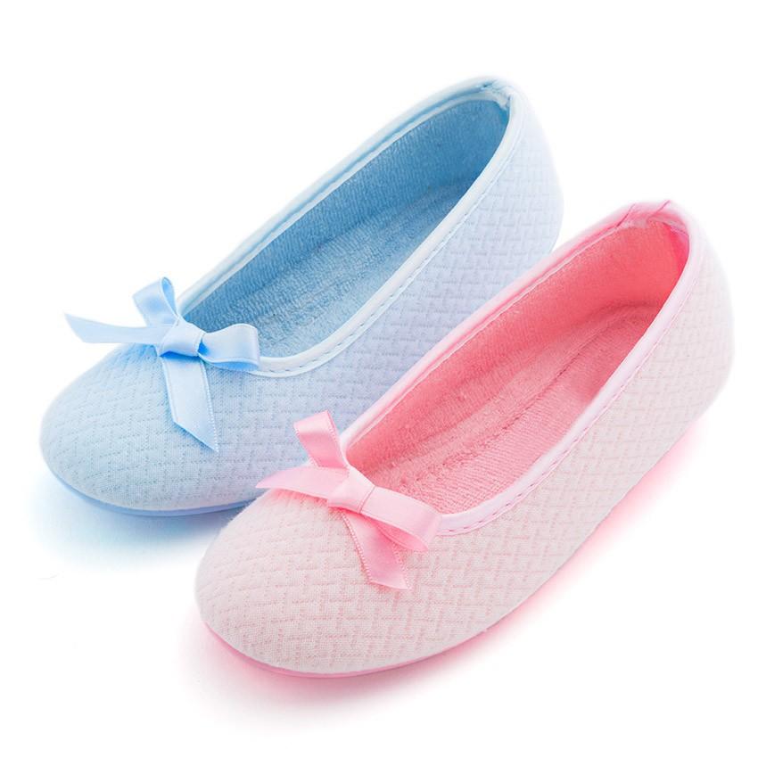 Pantofole Ballerine Donna con fiocco