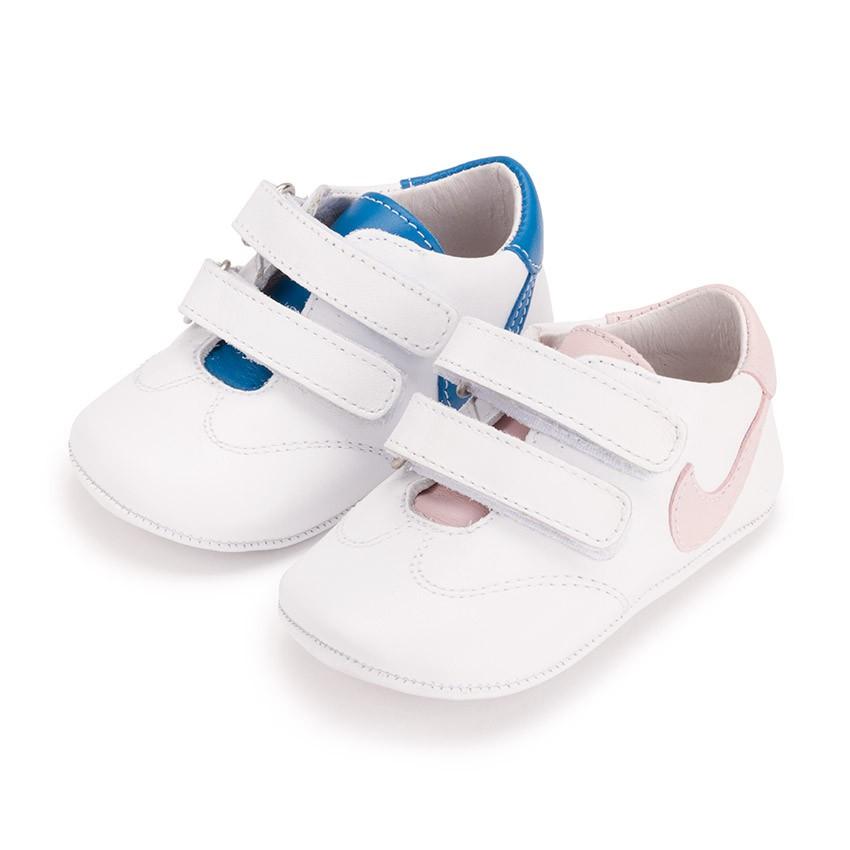 Scarpine sportive per neonato pelle