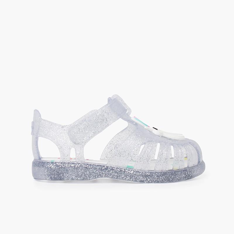 sandali unicorno glitter Striscia adesiva