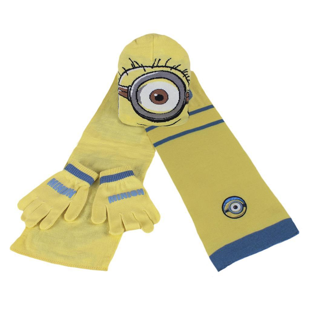 Set berretto sciarpa e guanti bambini Disney