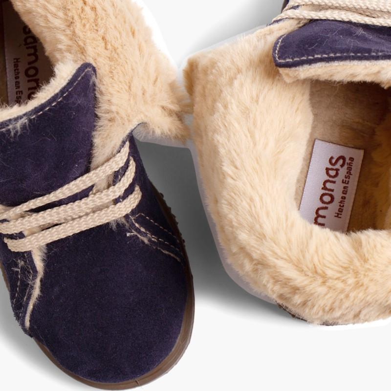 Stivali Caldi con Collo Girato per Bambini