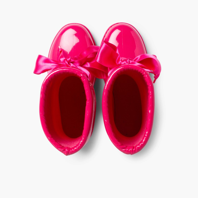 Stivali di gomma bambina vernice di Igor