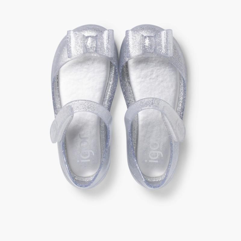 Scarpe con Cinturino Gomma Velcro Mia Fiocco