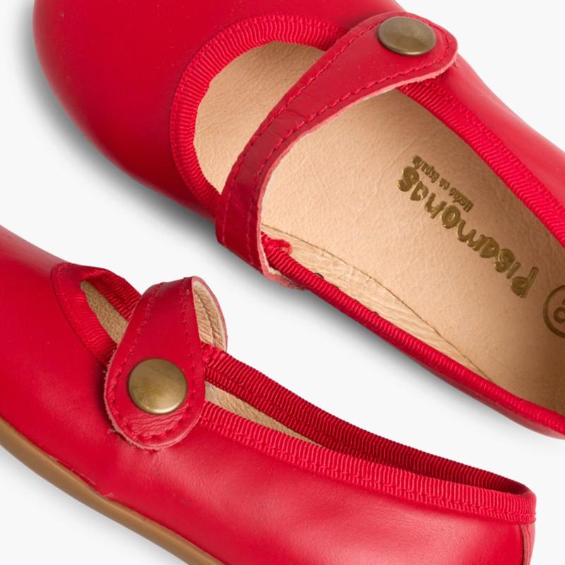 Scarpe bambina pelle colorate