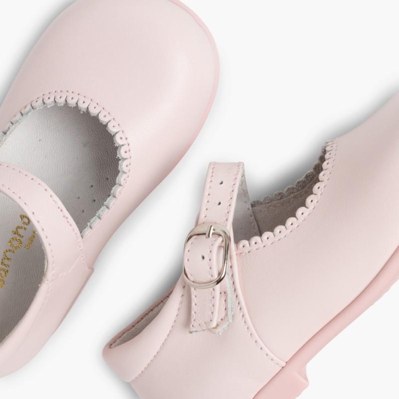 Scarpe primi passi Bambina Pelle Fibbia