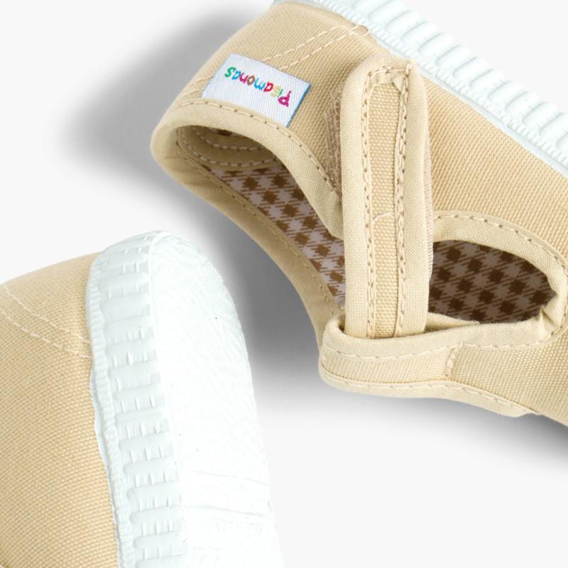 Scarpe Occhio di Bue T-Bar Bambini Velcro