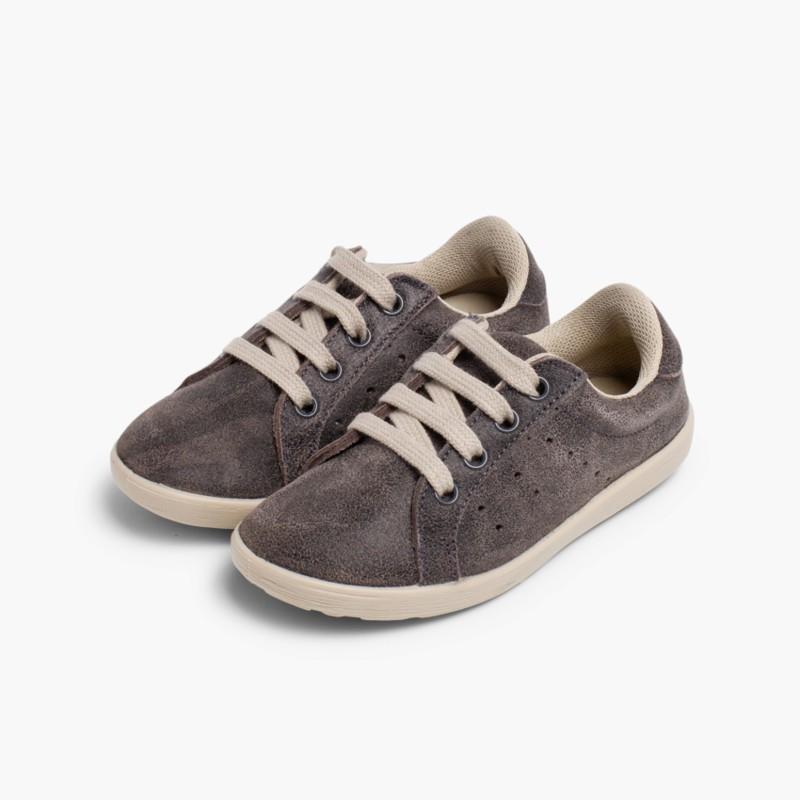 Scarpe Sneakers per Bambini Scamosciate