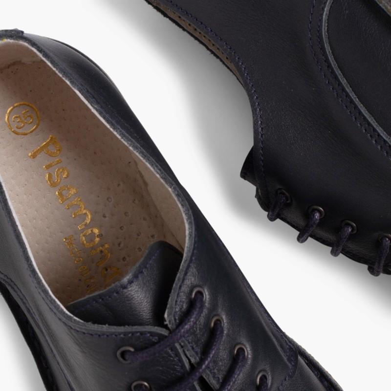 Scarpe modello Oxford Bambino Pelle